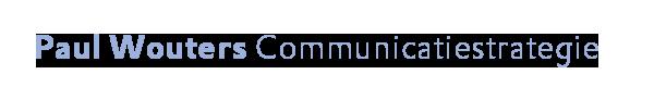 Paul Wouters Communicatiestrategie